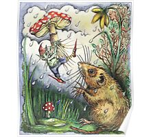The Elf and the Dormouse Poster