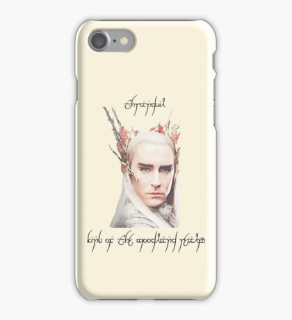 Thranduil, King of the Woodland Realm iPhone Case/Skin