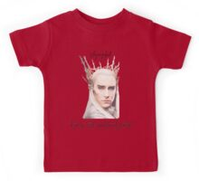 Thranduil, King of the Woodland Realm Kids Tee