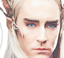Thranduil, King of the Woodland Realm Sticker