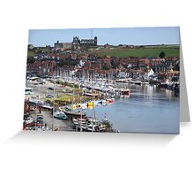 Whitby On A Calm Day Greeting Card