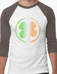 Shamrock Fade t shirt Men's Baseball ¾ T-Shirt