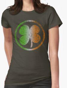 Shamrock Fade t shirt Womens Fitted T-Shirt