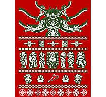 Chrono Christmas Sweater Photographic Print