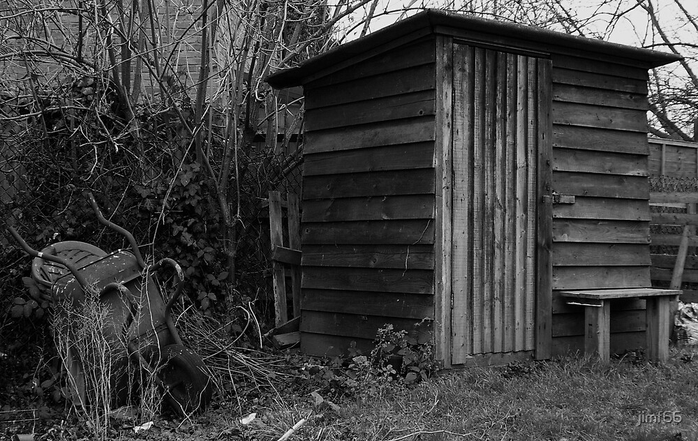 old shed by jimf66
