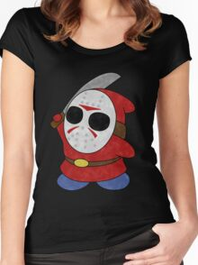 Shy Guy Jason Style Women's Fitted Scoop T-Shirt