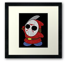 Shy Guy Jason Style Framed Print