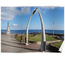 Whalebone Whitby and Captain Cook Poster