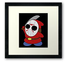 Shy Guy Jason Style 2 Framed Print