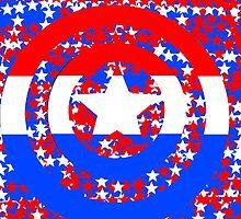 Captain America: Stars & Stripes by bioniczack