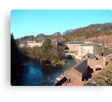 New Lanark Canvas Print