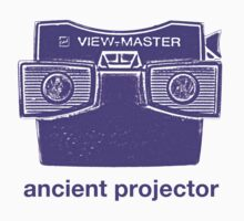 Ancient Projector One Piece - Short Sleeve