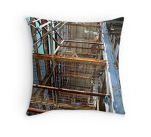Layers and Levels Throw Pillow