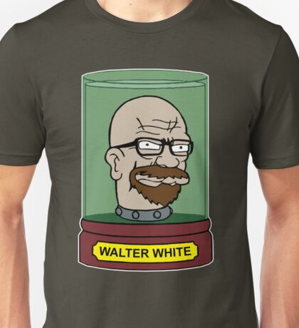 Walter White Futurama Jar Head Mashup Unisex T-Shirt