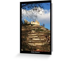 Castle Staufen Greeting Card