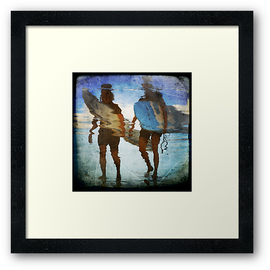 two surfers by Jackie Cooper