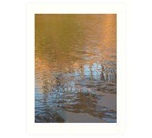 Sand and water, Agate Beach -- Newport, Oregon Art Print