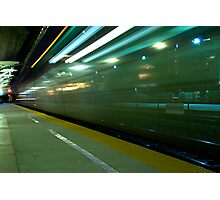 A Commuter Express Train Photographic Print