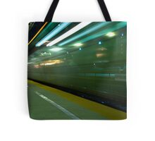 A Commuter Express Train Tote Bag