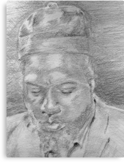 Monk (Up Close) by Charles Ezra Ferrell