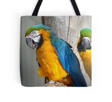Oooh! - It's On The Tip Of My Tongue! - Macaw - NZ Dunedin Tote Bag