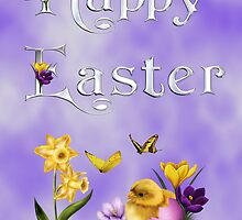Happy Easter 3 by Annika Strömgren