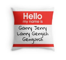 Parks and Recreation Jerry Throw Pillow