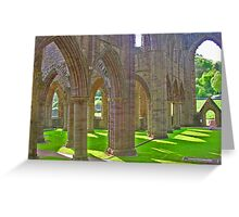 Tintern Abbey Greeting Card