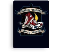Wibbly Wobbly Canvas Print