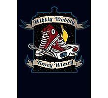 Wibbly Wobbly Photographic Print