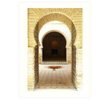 Series of Eastern Arches Art Print