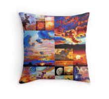 Sunrise, Sunset, Sunrise . . . Throw Pillow