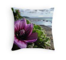Seaside Bokeh Extravaganza Throw Pillow