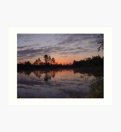Morning on Bear Creek Art Print