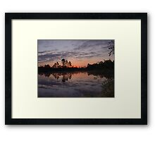 Morning on Bear Creek Framed Print