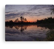 Morning on Bear Creek Canvas Print