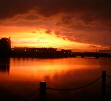 Sunset by Mary Ann Battle