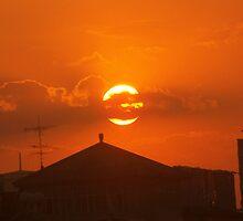 Chinese Sunset by Serenity Stewart