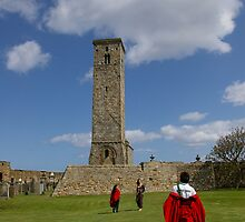 St Rule's Tower, St Andrews, Scotland by Rebecca Silverman