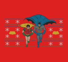 Batman and Robin Ugly Holiday Sweater by ianscott76