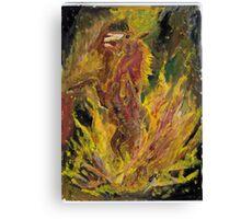 BUSH FIRE HORROR Canvas Print