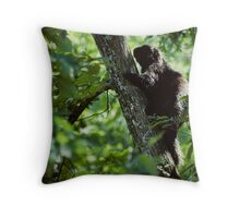 ..up a tree.. Throw Pillow