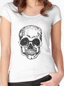 Death And Taxes Women's Fitted Scoop T-Shirt