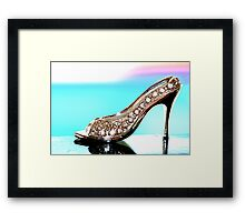 """Step up to the Challenge"" Framed Print"