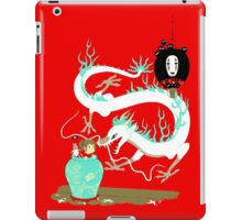 The white dragon iPad Case/Skin