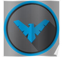 Nightwing - Logo V.01  Poster