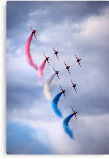 Red Arrows by Anna Ridley