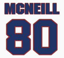 National football player Mike McNeill jersey 80 by imsport