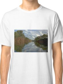Tranquil river scene Classic T-Shirt