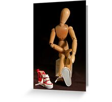 New Shoes Greeting Card